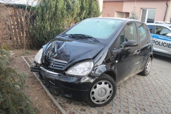 Nalezené auto Foto: PČR JMK
