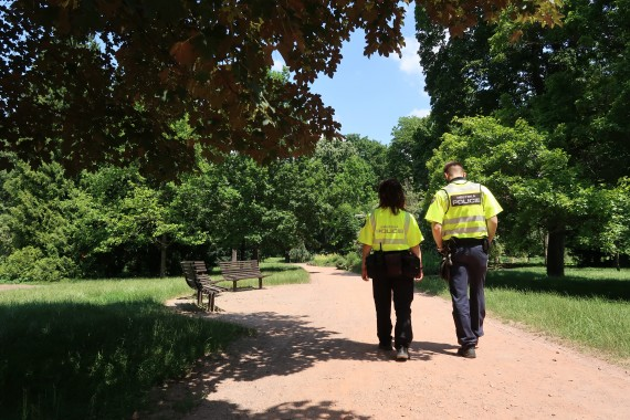 Městská policie Foto: MMB