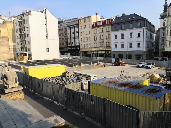 Místo stavby Foto: Centrum news/ Daniel Kempský