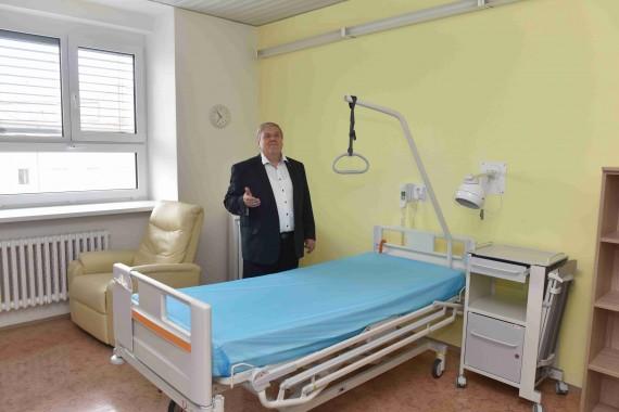 Úrazová nemocnice je nově vybavena klimatizací Foto: MMB