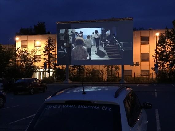Letní kino v Dukovanech Foto: JE Dukovany