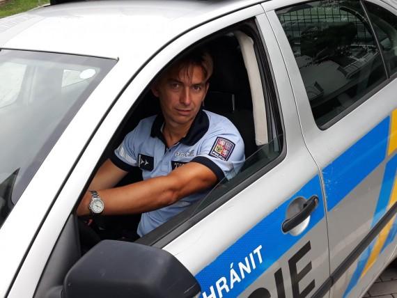 Policista David Maša Foto: PČR JMK