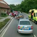Nehoda v Louce Foto: HZS JMK