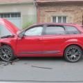 Nehoda v Louce Foto: PČR JMK