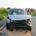 Auto řidiče, který po nehodě utekl Foto: PČR JMK