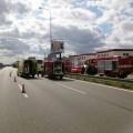 Nehoda na výjezdu z Brna Foto: HZS JMK