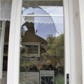 Rozbité okno v kuchyni Foto: PČR JMK