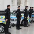 Policisté s novými auty      Foto: pčr