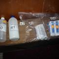 Zásahová jednotka chytila výrobce drog přímo při činu Foto: PČR