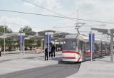 Tramvajová trať v Bohunicích Foto: Kopeme za Brno