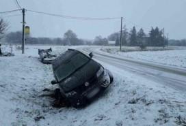 Dopravní nehoda u Rajhradic Foto: HZS JMK