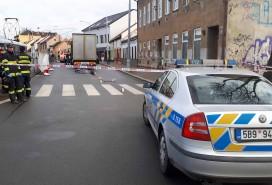 Po srážce s kamionem žena zemřela Foto: PČR JMK