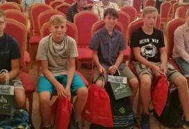 Ocenění školáci Foto: ZZS JMK