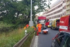 Nehoda na Poříčí Foto: ZZS JMK