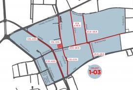 Mapa rezidentního parkování Foto: MMB