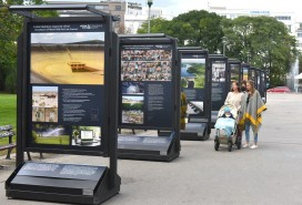Výstava na Moravském náměstí Foto: MMB